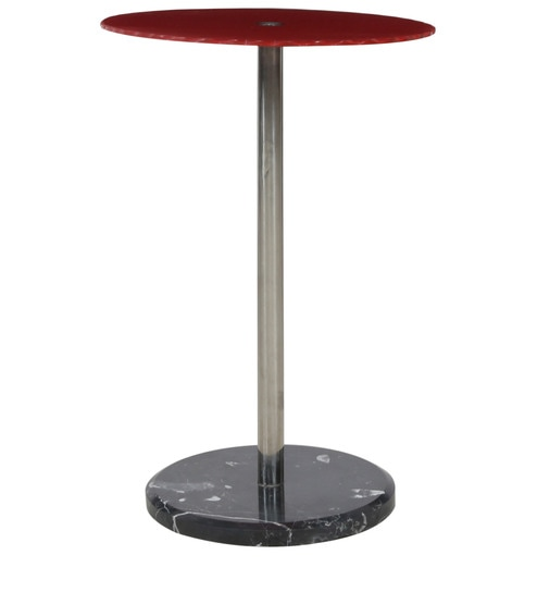Buy End Table In Red Colour By Penache Furnishings Online Modern