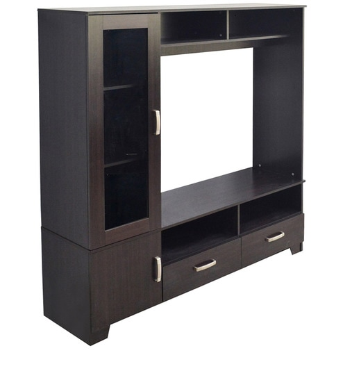 Buy TV Unit in Wenge Colour by Eros Online - Modern TV Units - TV ...