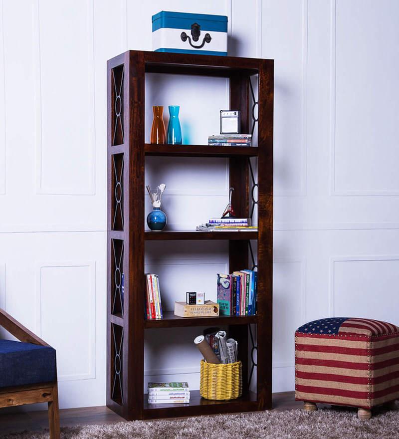 Enumclaw Display Unit in Honey Oak Finish by Woodsworth
