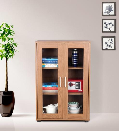 Epson 2 Door Multipuropose Cabinet in Walnut Finish by HomeTown