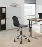 Ergonomic Chair in Black Colour