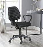Tiago Ergonomic Chair in Black Colour