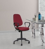 Star Ergonomic Chair in Maroon Colour