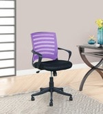 Trendy Ergonomic Chair in Purple Colour