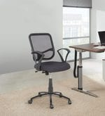 Ergonomic Mesh Backrest Office Chair with Push Back Mechanism