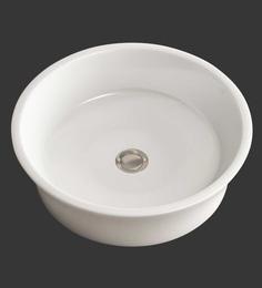 Eros Table Top White Ceramic Wash Basin (Model: Dew-TT)
