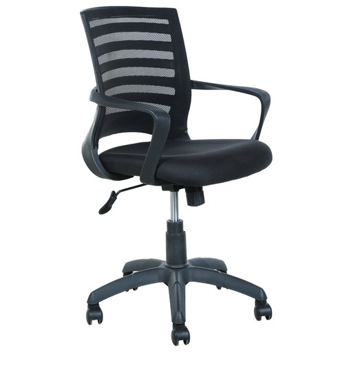 Peachy Ergonomic Chair In Black Colour By Parin Best Image Libraries Counlowcountryjoecom