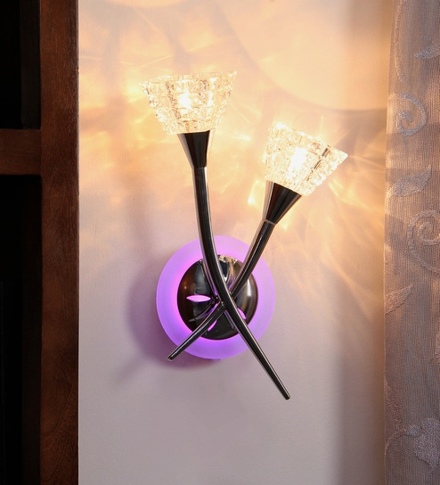 Contemporary Upward 2 Lamps Wall Light by Aesthetic Home Solutions