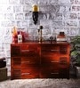 Eros Chest of Six Drawers in Honey Oak Finish by Woodsworth