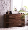 Eros Chest of Six Drawers in Provincial Teak Finish by Woodsworth