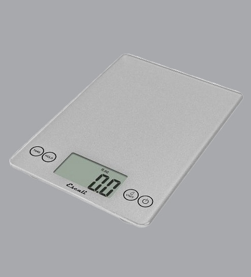Gl Digital Kitchen Scale In Silver