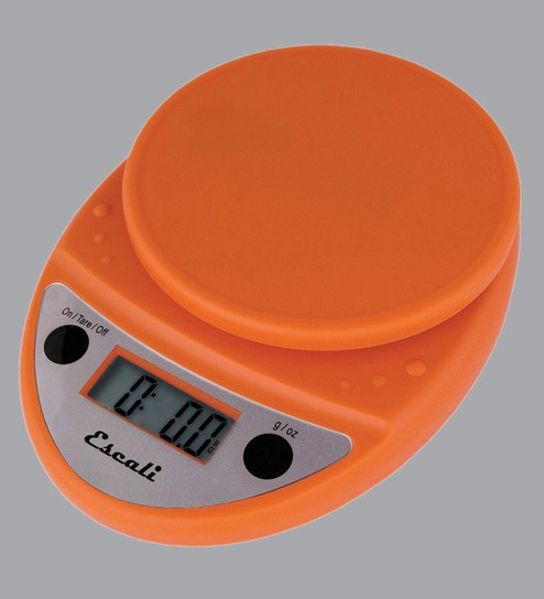 Escali Primo Digital Orange Plastic Kitchen Scale