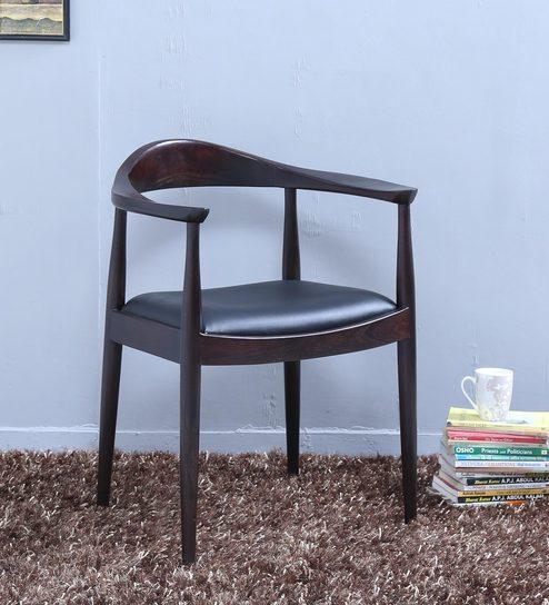 Esvelt Arm Chair in Warm Chestnut Finish by Woodsworth