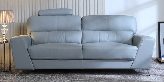 Astonishing Esteban 3 Seater Sofa In Grey Colour By Casacraft Download Free Architecture Designs Rallybritishbridgeorg