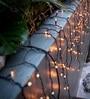 Essence Black Plastic String Light - Set Of 2