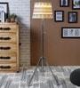 Ethnic Roots Multicolour Cotton Floor Lamp