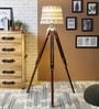 Multicolour Cotton Floor Lamp by Ethnic Roots