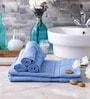 Eurospa Cotton Towel Sets Blue