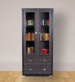 Evergreen Book Case in Wenge Colour
