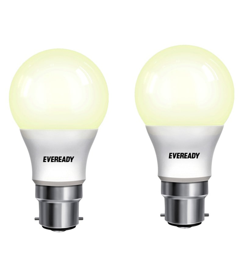 Eveready LED Bulb Combo 7W - 2700K Pack of 2 - Golden Yellow