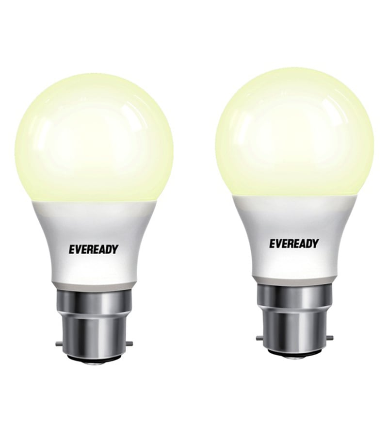 Eveready LED Bulb Combo 9W - 2700K Pack of 2 - Golden Yellow