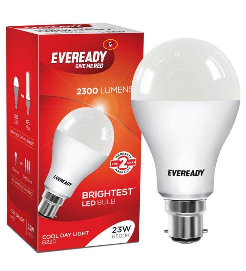 Buy Eveready Led Bulb 23w 6500k Online Led Bulbs Led