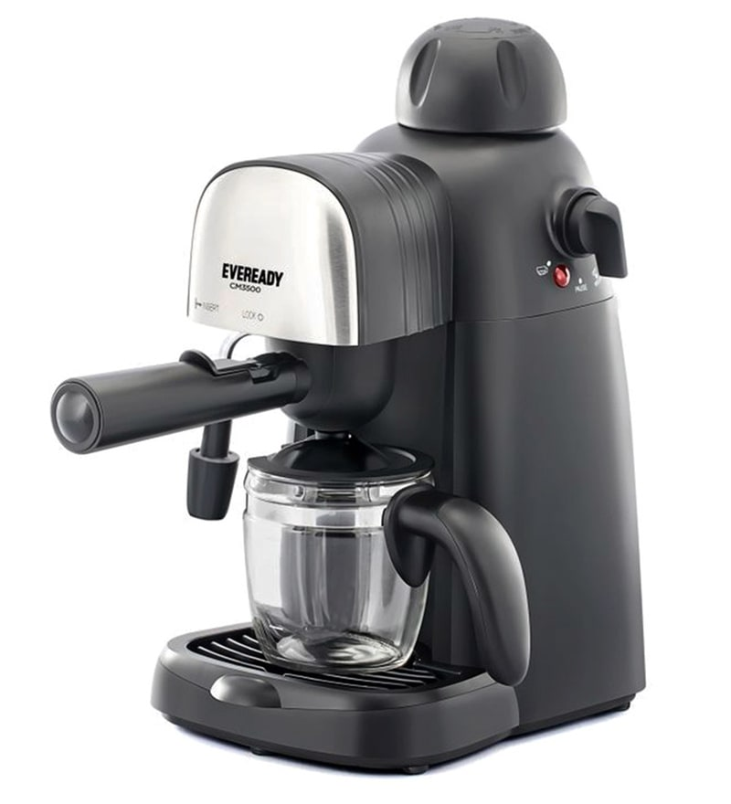 Eveready 800 W Espresso Coffee Maker CM3500