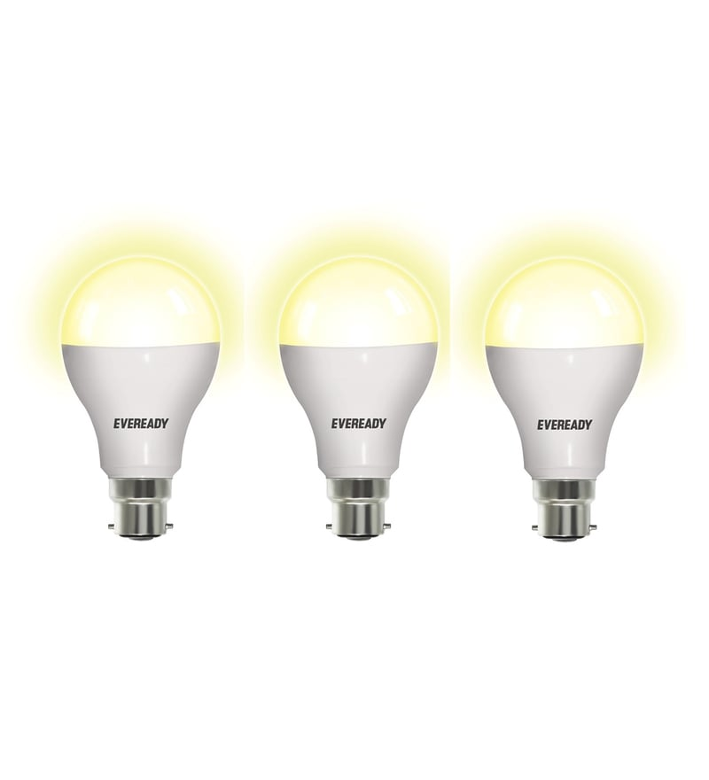 Eveready Warm White 12-Watt Led Bulbs - Set of 3
