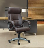 High Back Executive Chair in Brown Colour