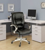 Executive Medium Back Office Chair in Black Colour