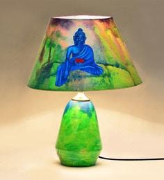 ExclusiveLane Multicolour Polyvinyl Table Lamp