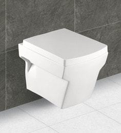 Exor White Ceramic Wall Hung Water Closet (Model: 4046)
