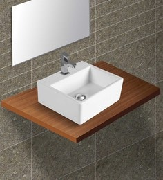 Exor White Ceramic Wash Basin (Model: 3061)
