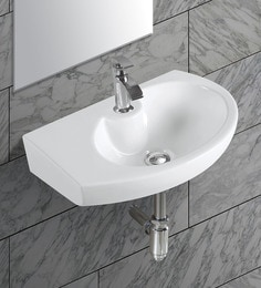 Exor White Ceramic Wash Basin (Model: 3071)