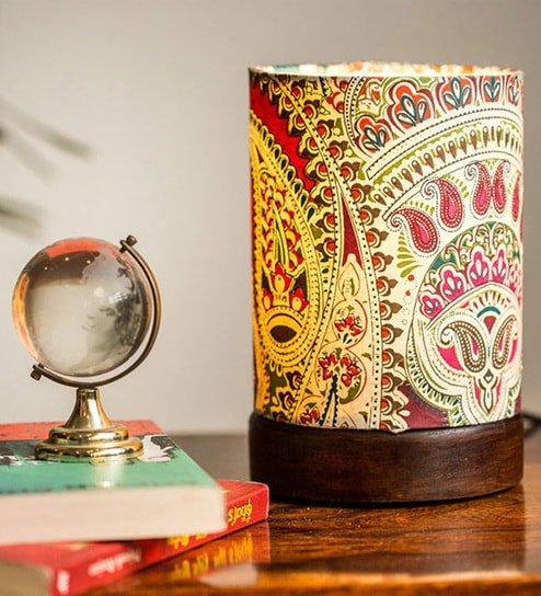 Ethnic table lamps image collections table furniture design ideas buy multicolour polyvinyl mini ethnic table lamp by exclusivelane mozeypictures Images