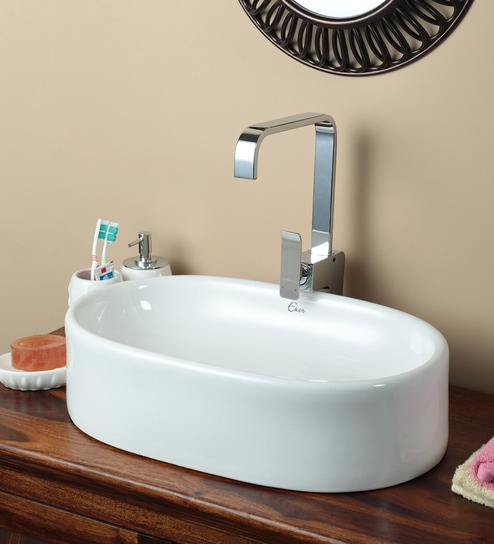 Exor 3057 Ceramic Table Top Wash Basin