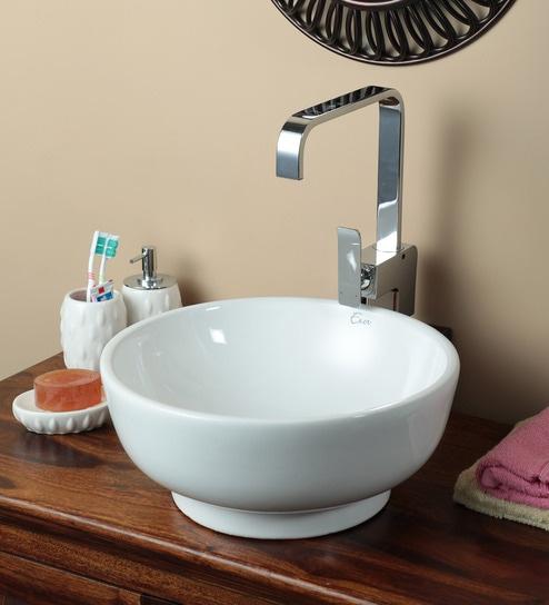 Exor 3078 Ceramic Table Top Wash Basin