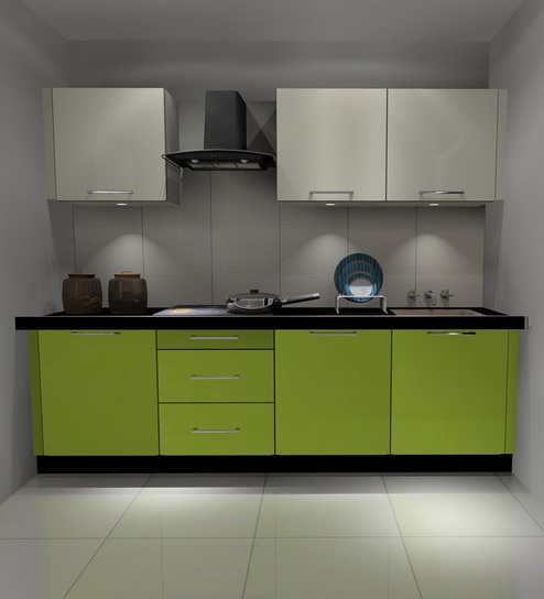 Buy express modular kitchen cabinets in high gloss finish for Express modular pricing