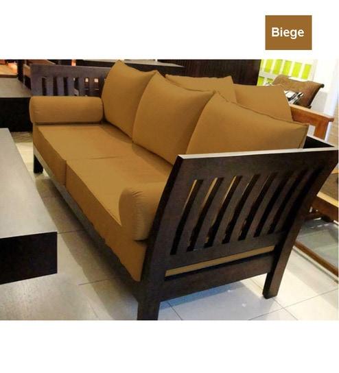 Extra Ious Wooden Sofa