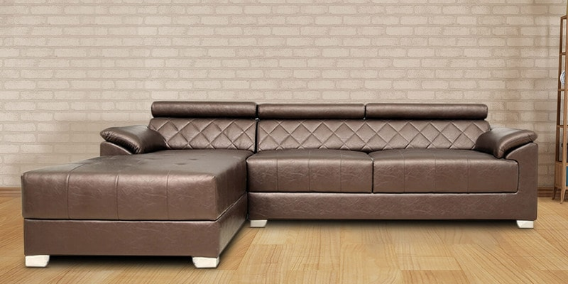 Buy exotica rhs sectional sofa with lounger in designer for Buy sectional sofa india