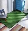 Ezeegrass Green Polypropylene 96 x 60 Inch Area Rug