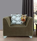 Famsco One Seater Sofa in Beige Colour