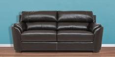 Falcon Three Seater Sofa in Dark Brown Colour