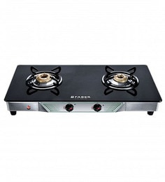 Faber Crystal 20 CT-AI 2 Burner Glasstop Cooktop at pepperfry