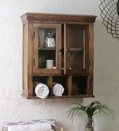Fabuliv Solid Wood Double Door Bathroom Cabinet - 1685430