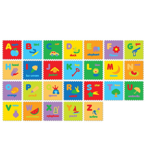 kids playmat borders gym play floor tiles foam toddler puzzle itm toy mat baby mats