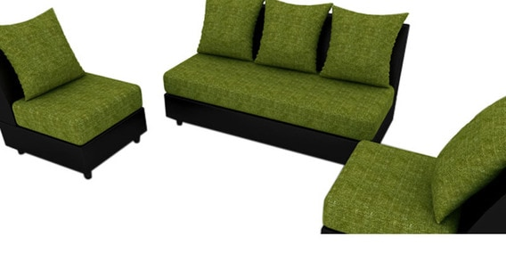 Delicieux Fancy Sofa Set In Green Colour By Housefull