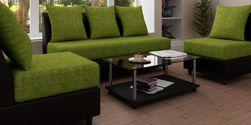 Fancy Sofa Set In Green Colour By Housefull Online Rh Pepperfry Com