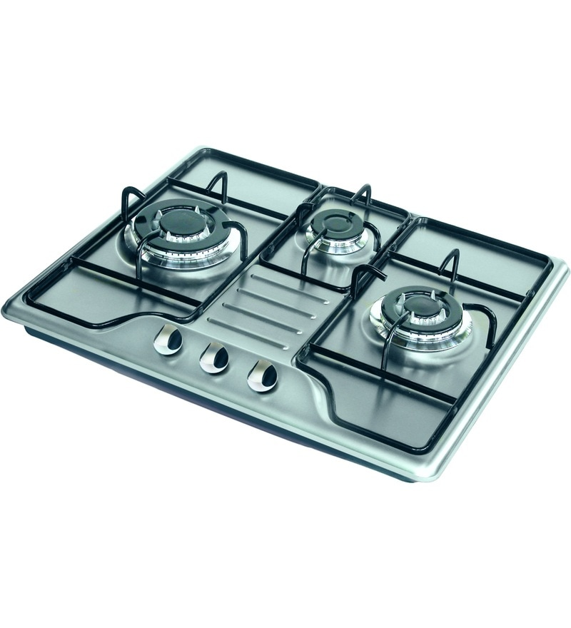 GST RELIEF DEAL - ADDITIONAL 5% OFF :: FABER 3 Burner Auto Ignition SS Built-In Hob (MDR-603-MTX)