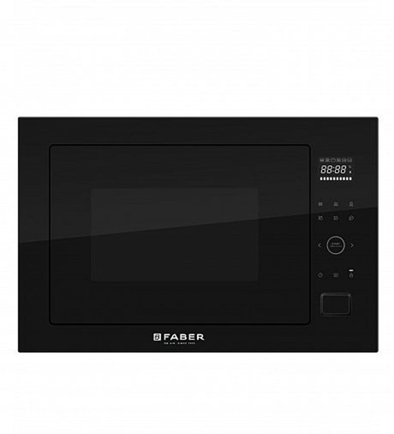 Faber Black Built-in Microwave Oven (Model No: FBI-MWO-25L CGS BK)